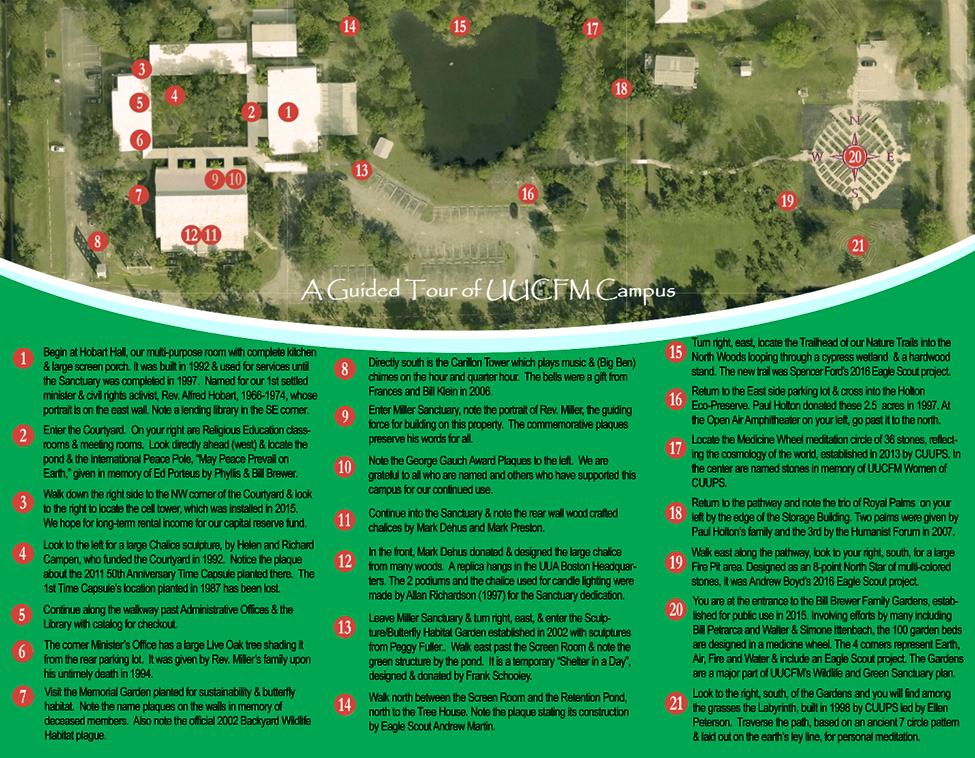 Walking Tour – Medicine Wheel Garden Plans